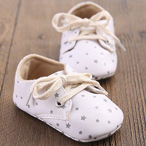 Leap Frog  Gentle Sneakers, Baby Jungen Lauflernschuhe Weiß
