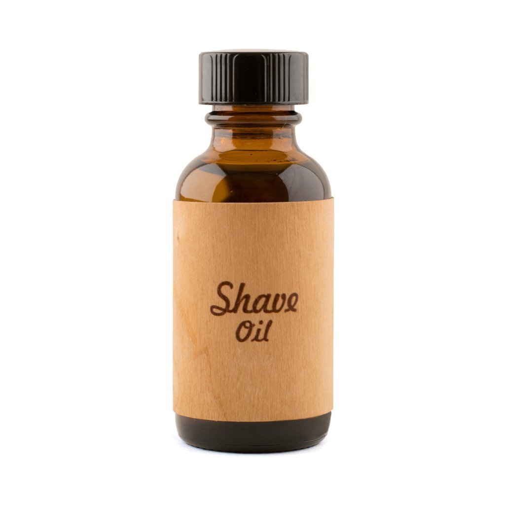 Shave Oil by The Bearded Bastard —Natural Shave Oil (1 oz)