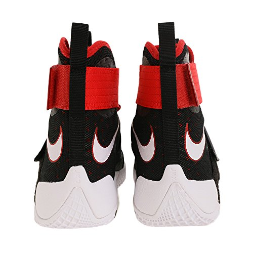 Nike Mens Lebron Soldier 10, Black / White - University Red, 11 M US
