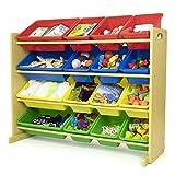 Humble Crew Toy Storage Organizer, Natural/Primary