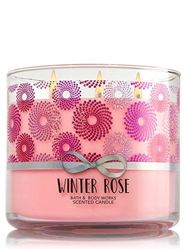 Bath & Body Works 3-Wick Candle in Winter Rose by Bath & Body Works (Image #1)