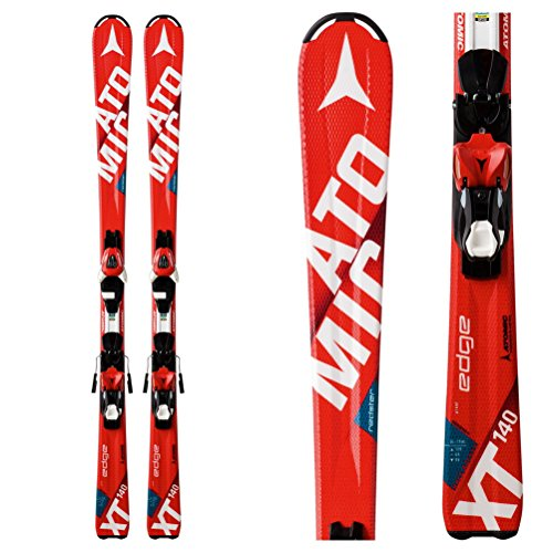 Atomic 2017 Redster Edge JR 120cm Skis w/XTE 7 (Atomic Junior Race Skis)
