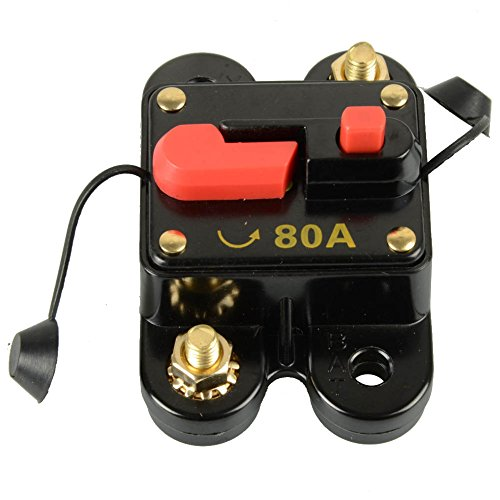 Circuit Breaker, Circuit Breaker Switches | Circuit Breaker Fuse Trolling with Manual Reset | 12V-24V (Manual Reset Circuit Breaker)