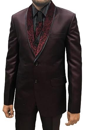 INMONARCH Vino Mens 5 pc Parte Tuxedo TX1116L44 54 or XXL (Altura ...