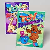 TOY ADVENTURES 96 PG 2 ASST PPD $3.95 IN 120 CT FLOOR DISPLY, Case Pack of 120