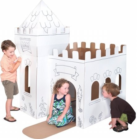 Box Creations Corrugated Castle - Markers Included
