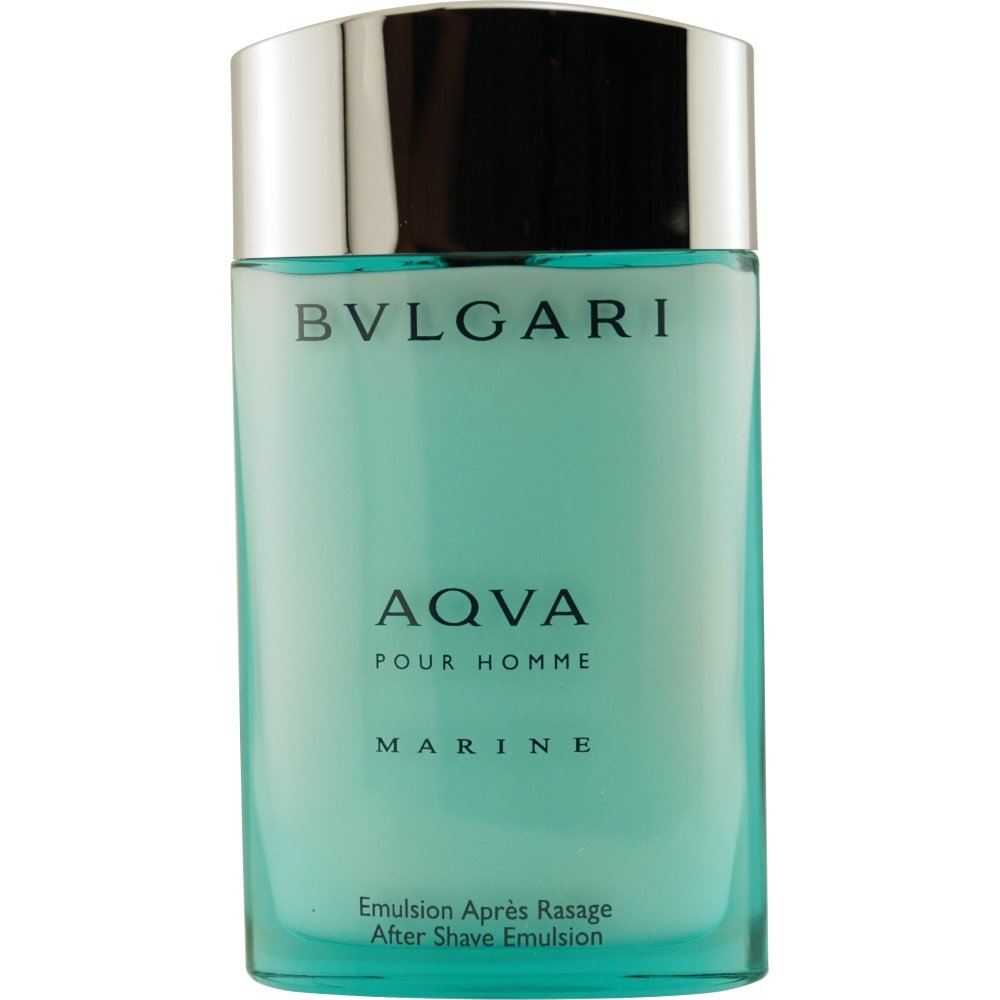 Aqva Marine Pour Homme By Bvlgari After Shave Emulsion, 3.4-Ounce