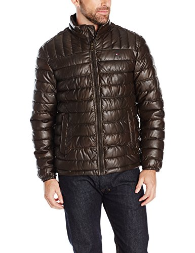 Tommy Hilfiger Lightweight Quilted Leather