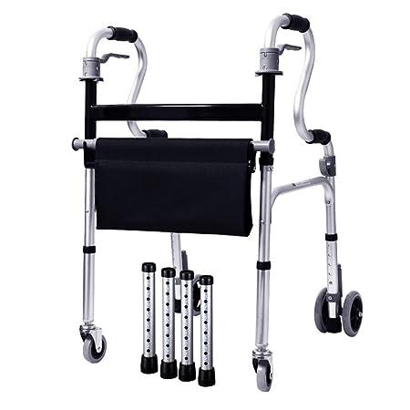 LHY-Andador Aleación de Aluminio para Adultos Mayores Adultos con ...