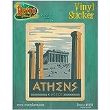Athens Greece Greek Parthenon Vinyl Sticker World Travel