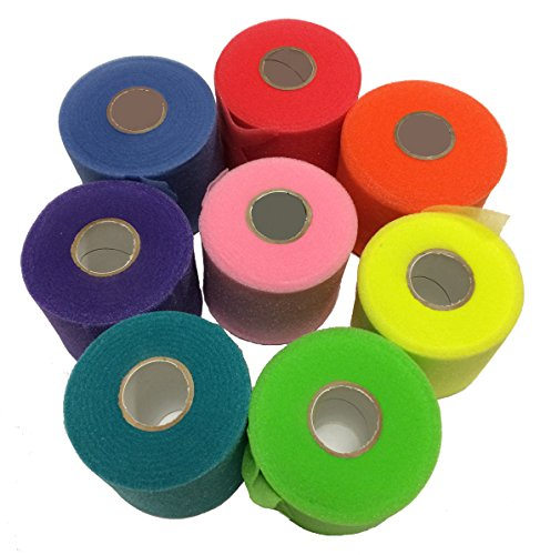 Mueller Sports Medicine Wrap (Mueller Rainbow Pack of Sports Pre-Wrap (8 colors!),30 Yards,Rainbow)