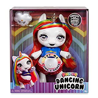 Poopsie Dancing Unicorn Rainbow Brightstar – Dancing and Singing Unicorn Doll (Battery-Powered Robotic Toy)