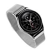Generic 20mm Stainless Steel Watch Band for Samsung Gear S2 Classic Milanese Watch Band Wrist Bracelet Strap...