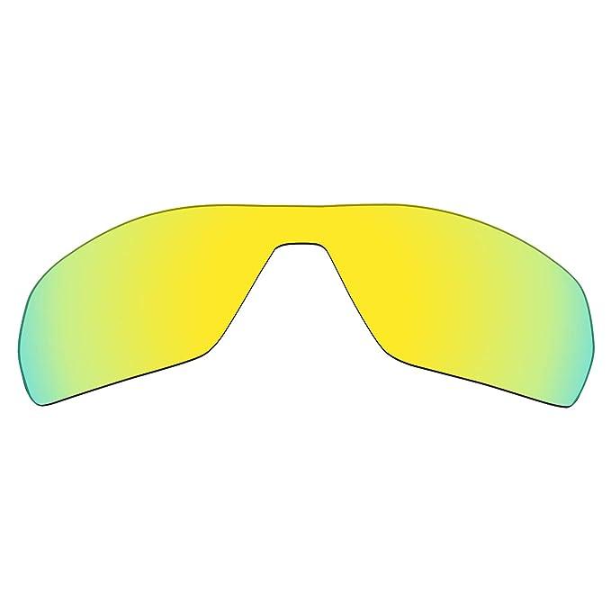 MRY - Gafas de sol - para hombre Multicolor 24K Gold: Amazon.es ...
