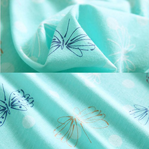 The 8 best women's sleepwear cotton sleep tee short sleeves print sleepshirt