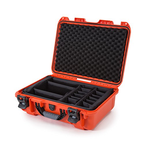 Nanuk 925 Waterproof Hard Case with Padded Dividers - Orange