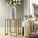 Elise Accent Table Antique Gold See below