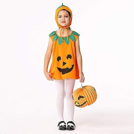Disfraz de Halloween Infantil - Vestido Calabaza para Halloween ...