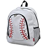NGIL Children's School Backpack 2018 Collection (White Baseball)