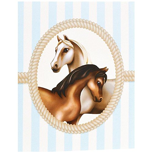 BirthdayExpress Ponies Invitations (Horse Birthday Party Invitations)