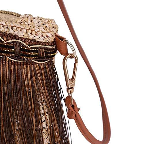 del muchacha Aprigy del Hombro Fringe feminina Bolsos de las de de mensajero bolso bolsos Bolsos femenino marca armadura la borla las del de la mujeres de bolso Café la para Beige 2018 la mujeres Mujer 11xrZdwOq