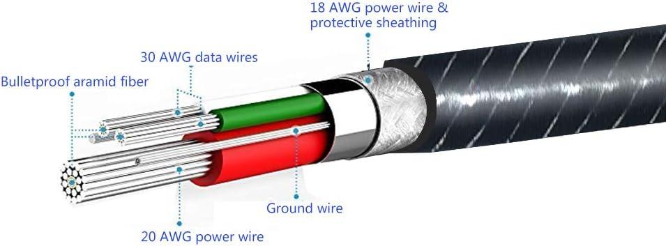 Black 3.5mm Replacement Audio Cable with Remote Control Upgrade Extension Cable Compatible Shure SE215、SE846、SE425、SE535、SE535LTD-J、SE315 YINYOO PRO H5 HQ5 Earphone