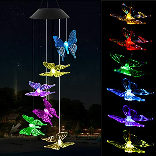Solar Panel Butterfly Lights in US - 4