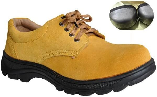 Men's Work Safety Shoes, Steel Toe Work Shoes Industrial & Construction Shoes Puncture Proof Safety Shoes (7)