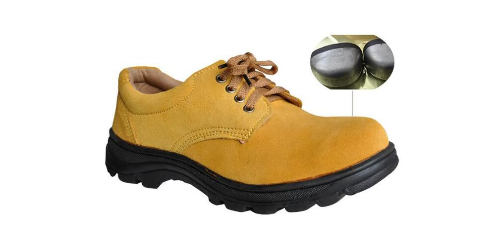 Men's Work Safety Shoes, Steel Toe Work Shoes Industrial & Construction Shoes Puncture Proof Safety Shoes (11)