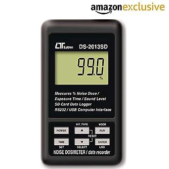 Amazon.com: Lutron DS 2013SD - Dosímetro de ruido personal y ...