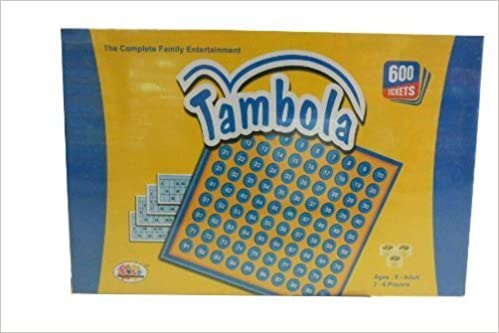 Ekta Tambola 600Tickets Housie Games: 8906000251614: Amazon