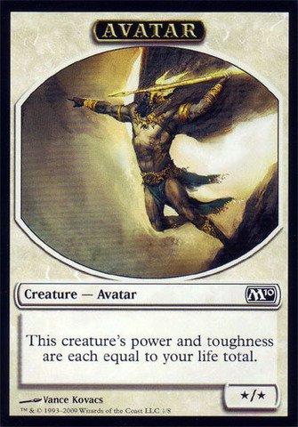 Magic: the Gathering - Avatar Token - Magic 2010