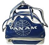 Pan Am Original Men's Retro Gym Duffle Travel Bag (Pan Am Blue)