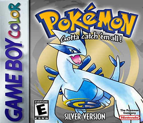 Pokemon Silver Version - New Save Battery (Renewed) (Best Gameboy And Gameboy Color Games)