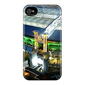 Rugged Skin Cases Covers For Case Iphone 5/5S Cover Eco-friendly Packaging(amsterdam Arena)