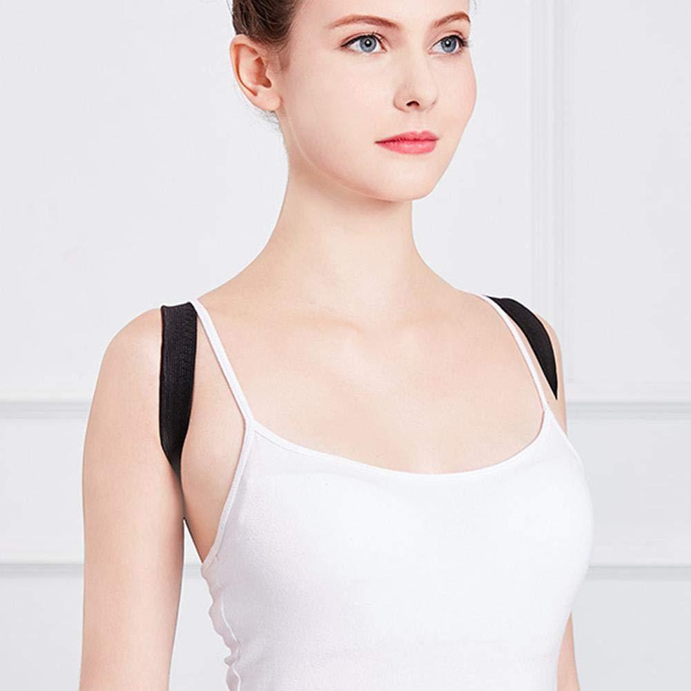 Corrector De Postura Faja para Hombre Y Mujer Hombro Clav/ícula Espalda Recta Soporte Groust F/érulas para Espalda Corrector Postura Espalda