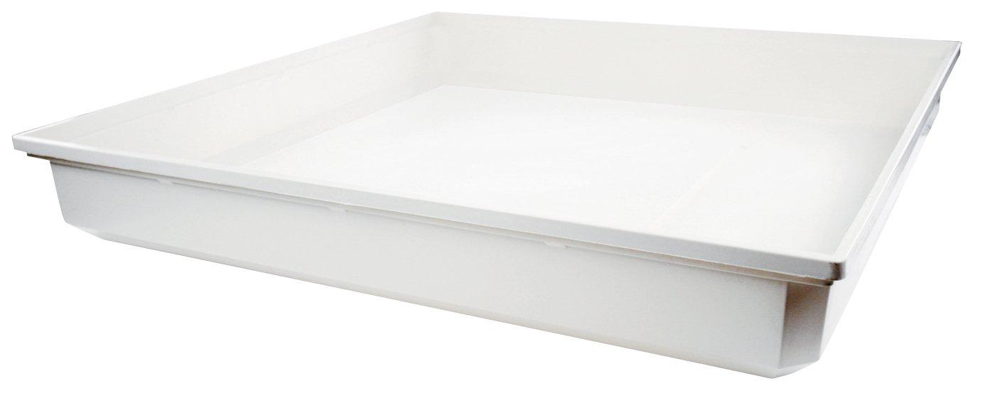 HQ W9-DRIPTRAY accesorio para artículo de cocina y hogar - Accesorio de hogar (70 cm, 10 cm, 70 cm, 72,5 cm, 73,5 cm, 11,5 cm) Color blanco