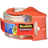 Scotch Heavy Duty Shipping Packaging Tape, 1.88 Inch x 800 Inch, Clear (Pack of 4)