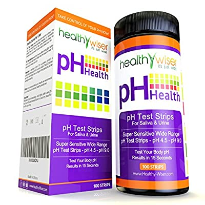 HealthyWiser Ph Test Strips