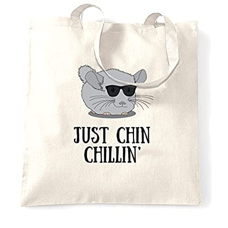 Bolso de la compra regalo Just Chin Chillin Mano chinchilla ...
