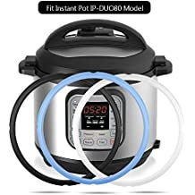 3PCS Silicone Sealing Ring for Instant Pot 5 Qt / 6 Qt, Sweet and Savory Edition, BPA-free Food-grade Silicone Fits IP-DUO60, IP-LUX60, IP-DUO50, IP-LUX50, Smart-60, IP-CSG60 and IP-CSG50 by Mocoosy