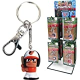 Party Animal Baltimore Orioles MLB Teenymates Keychain Tagalong Figure