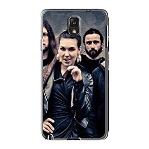Scratch Resistant Hard Phone Case For Samsung Galaxy Note3 (NGY5266wlzd) Custom Realistic Rise Against Series