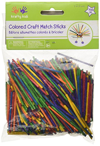 Colored Craft Toothpicks