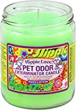 Pet Odor Exterminator Candle Hippie Love Jar (13 oz)