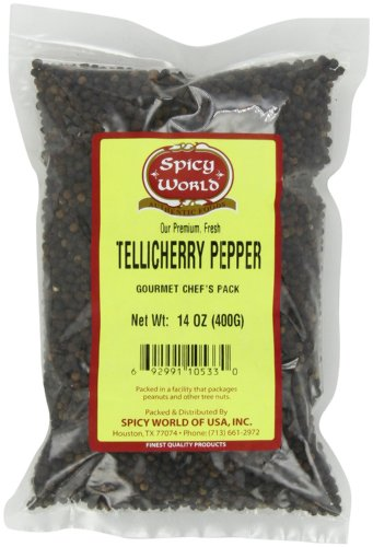 Spicy World Tellicherry Pepper 14 Ounce product image