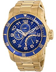 Invicta Mens 15342 Pro Diver Analog Display Japanese Quartz Gold Watch
