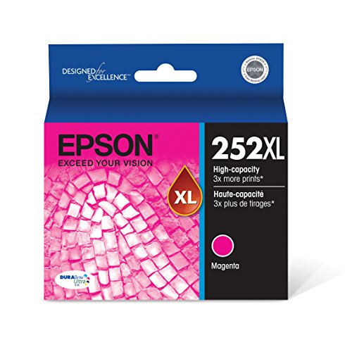Epson T252XL320 DURABrite Ultra Magenta High Capacity Cartridge Ink