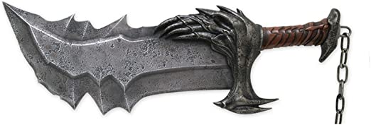 United Cutlery UC2665 God of War Kratos Blade with Stand