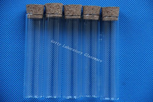 Pyrex flat bottom test tube 18x80mm, with plug,high temperature resistant Beijing Getty Laboratory Glassware Co.